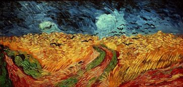 """""""Le champ de blé aux esprits maléfiques"""" par Vincent Cézanne"""